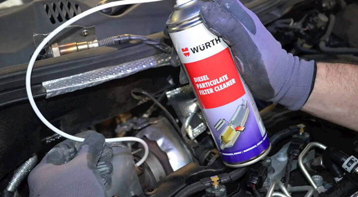 Diesel Pickup Truck DPF Cleaning Service
