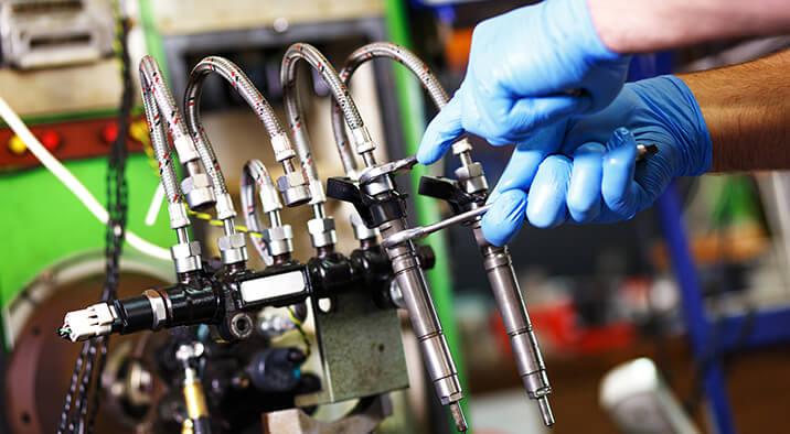 Diesel Pickup Truck Injector Repair & Service