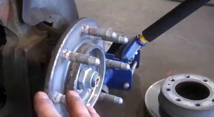 Diesel Pickup Truck Wheel Bearing Repair & Service