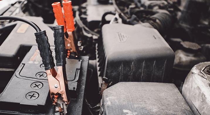Diesel Pickup Truck Battery Repair & Service