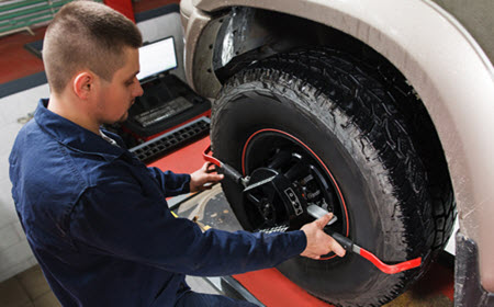 Chevrolet Duramax Wheel Alignment