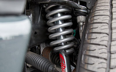 Ford Powerstroke Suspension Inspection